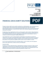 Financial Insurance & Guarantee Risk Sheet