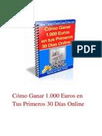 1000 Euros 30 Dias