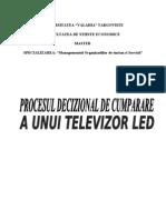 Procesul Decizional de Cumparare Al Unui Televizor LED