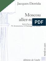 24409242 Moscou Aller Retour J Derrida 1995