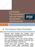 Akpri-menjamin Pelaksanaan Etika Dalam Penelitian Akuntansi Keprilakuan - Copy