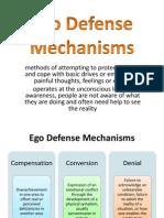Chapter 3 Ego Defense Mechanisms