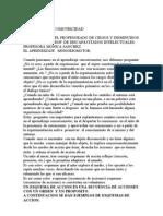CATEDRA de PSICOMOTRICIDAD.doc Aprendizaje Sensoriomotor