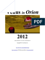 Venus in Orion 2012