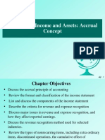 Chapter 2 (Accounting Income Ans Assets - The Accrual Concept )