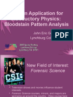 17115313 Bloodstain Pattern Analysis CSAAPT