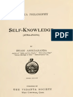Self Knowledge (Atma-Jnana) - By Swami Abhedananda