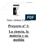 P1fq3eso - La Ciencia, La Materia y Su Medida
