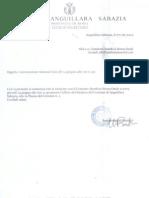 2012 - Giugno 07 - Convocazione Comitato Al Comune Di Anguillara