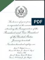 invitation 1981