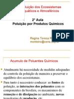 2 Aula - Poluição por Produtos Químicas