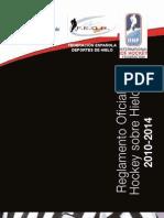 FEDH-Reglamento Hockey Hielo 2010-2014