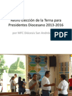Eleccion Terna PD