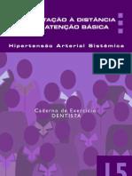 090-Curso HAS Para PSF - Caderno Exercicios - DeNTISTA