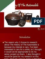 e5b4History of Automobiles