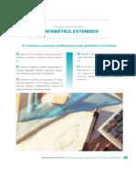 Matemática - Programa de Estudo