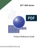 Spt1800 Manuals
