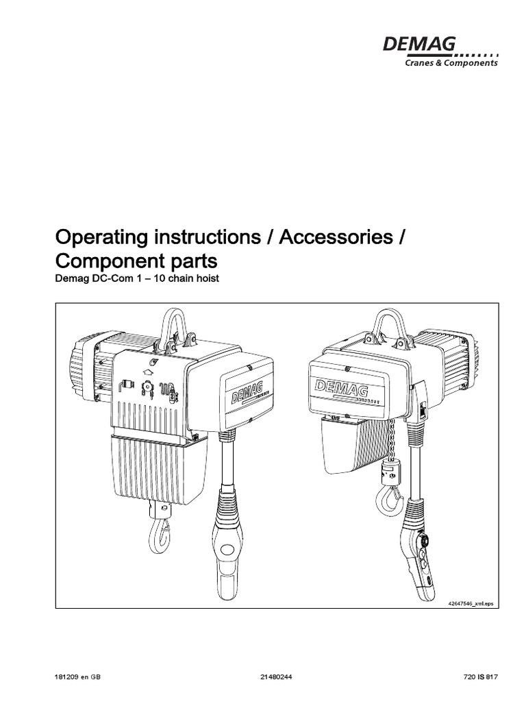 demag5 electrician safety Demag Hoist Wiring-Diagram