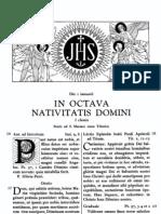 Missale Romanum 1 de Enero