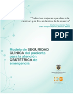 Modelo de Seguridad Emergencia Obstetrica