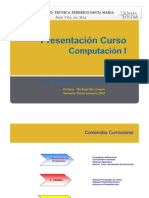 Presentación Curso - (indicaciones trabajo grupal)