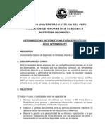 HerramientasInformaticasparaEjecutivos_Intermediate2012