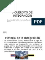 Acuerdos de Integracion