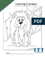 ITT Coloring Contest