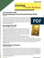 Book Reviews, Dutch, the Magazine