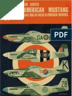 Osprey - Aircam Aviation Series 03 - North American Mustang in RAF, RAAF,SAAF, RNZAF, RCAF & Foreign Service