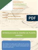 diseño de planta minera