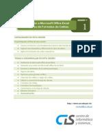 Sesión 01 - Introducción a Microsoft Excel