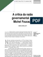 A CRITICA DA RAZÃO GOVERNAMENTAL
