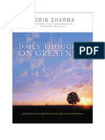 Daily Thoughts on Greatness eBook Sample