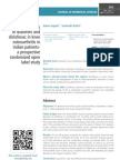 Efficacy and safety of diacerein and diclofenac in knee osteoarthritis in Indian patients- a prospective randomized open label study