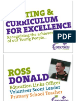 Presntation Scouts Scotland Recognition of Learning