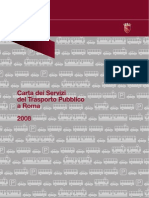 Carta Dei Servizi Atac 2008