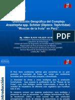 6. Distribución de Anastrepha en Perú