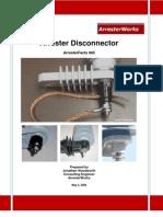 Arrester Facts 005 - Arrester Disconnector