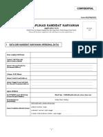 Form 003 - Aplikasi Karyawan