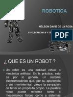 ROBOTICA Nelson de La Rosa
