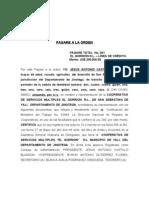 PAGARE EL GORRIÓN 200,000. 12-03-08