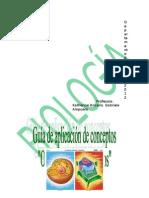 Guía de Aplicación de Conceptos biologia