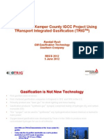 Overview of the Kemper IGCC TRIG Project