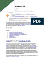 Francmasonería en Chile