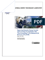"Improving Domestic Energy Security and Lowering CO2 Emissions with ""Next Generation"" CO2-Enhanced Oil Recovery (June 2011)"