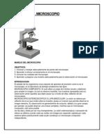 Manejo Del Microscopio