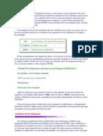 El Lenguaje HTML Es Un Lenguaje de Marcas