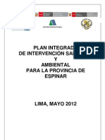 Plan Integrado Espinar Minam