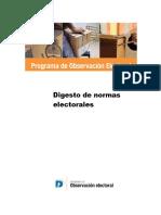 Digesto Electoral - Defensoría del Pueblo - CABA